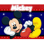 Kit Imprimible Mickey Mouse Diseñá Invitaciones Cumpleano #2