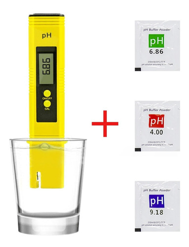 Probador De Medidor Ph Digital Test De Agua De Bolsillo
