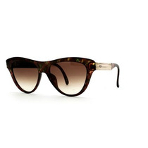 Gafas Christian Dior Brown And Green Authentic Women Vinta