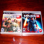 Lote 2 Vj Mass Effect 2 Y Mass Effect 3 Ps3 Nuevos Sellados