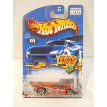 Hot Wheels Side Draft Naranja Collector #52 2002