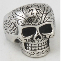 Anillo De Calavera Acero Inoxidable Bikers/rock/punk