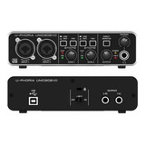 Behringer Umc202hd Interfaz De Audio 2x2 24 Bits Envio Full