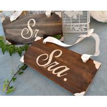 Letrero Para Novios , Casamiento , Boda Personalizado
