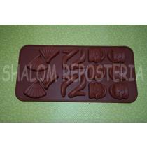 *molde Silicon Bolsa Zapatillas Mama Mujer Chocolate Isomalt