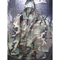 Chamarra Militar Us Army Original Camuflaje Woodland X Large