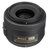 Nikon Lente Nikon Af-s Dx Nikkor 35mm F/1.8g