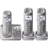 Telefono Inalambrico Panasonic Kx-tgl463s 3 Auriculares