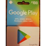 Tarjetas Google Play, Diferentes Precios.