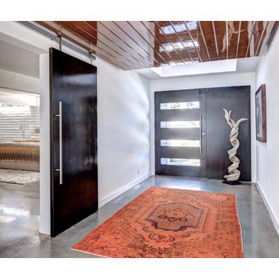 Jaladeras en 120 cm para puerta principal madera cristal for Puertas minimalistas exterior