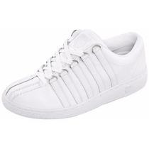 Tenis Clásicos Blancos Dama K-swiss A Meses