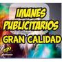 1000 Imanes Publicitarios 5x9 Cm Imán Grueso Super Precio!