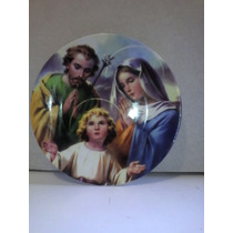 Plato Decorartivo Sagrada Familia