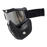 Mascara Moto Gogles Casco Motocicleta Lentes Protección Rzr