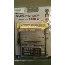 Amplificador Para Cuatrimoto Con Entrada Usb Fm Can Am Rzr