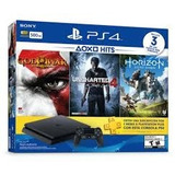 Consola Ps4 Con 3 Juegos Hits Bundle 2