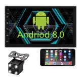 Auto Estereo Con Pantalla Touch De 7 Pulgadas 2 Din Sistema Android Wifi Gps Mirrorlink Con Camara De Reversa