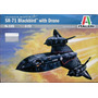 Avion Italeri Sr71 Blackbird 1/72 Armar Pintar / Revell