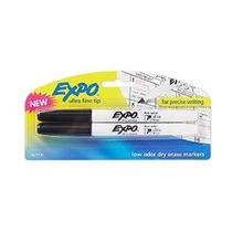 Expo De Bajo Olor Dry Erase Markers Ultra-fine Tip 2-pack Ne