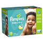 Pampers Baby Dry Pañales Paquete Gigante Tamaño 3 144 Conde