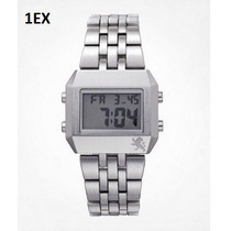 Reloj Express Plateado, Relojes Y Ropa Hombre 100% Original