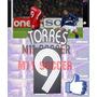 Estampado Liverpool Uefa #9 Torres 06-08 Envio Gratis