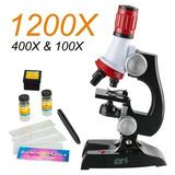 Microscopio Educativo De Juguete Para Niños