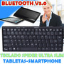 Teclado Bluetooth 3.0 Ipad Galaxy Ps3 Smartphone Ultra Slim