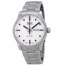 Reloj Mido Multifort Automático Acero Blanco M0054301103100