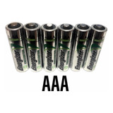 Pila Recargable Aaa Energizer De 800 Mah Paquete De 6 Piezas
