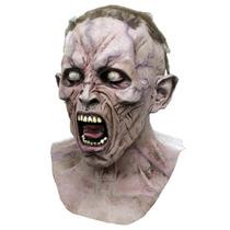 Guerra Mundial Z Scream Zombie 1 Mascara Deluxe Con Peluca