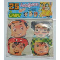 25 Antifaces El Chavo Del 8 Chapulin Colorado De Coleccion