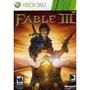 Videojuego Fable Iii (xbox 360)