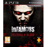 Infamous Blood Festival Juego Ps3