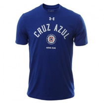 Cruz Azul Under Armour Playera Talla Small Color Azul