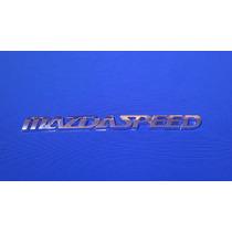 Emblema Mazda Speed Plástico Adherible
