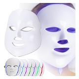 Máscara De Fotones Led Eléctrica Para Cuidado Del Rostro