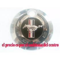 Mustang Emblema Caballo Bandera Cajuela Metalico 2005 A 2009