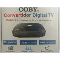 Decodificador Digital Tv Apagon Analógico Usb Dtv 900