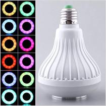 Lámpara Led Con 16 Colores Y Bocina Bluetooth