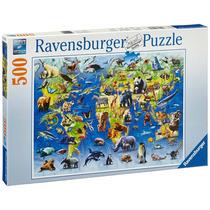 Ravensburger Puzzle Animales En Peligro De Extinción