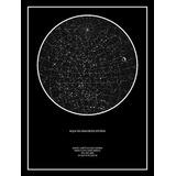 Mapas De Estrellas Digital Súper Personalizados