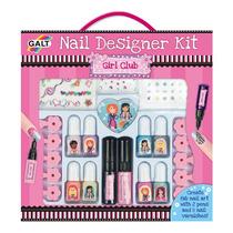 Set De Manicura - Nail Girls Kit Diseñador Crear Actividad