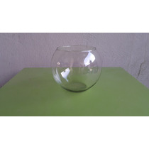 Pecera De Cristal # 8 Ideal Para Decoracion (19.5cmx16cm)