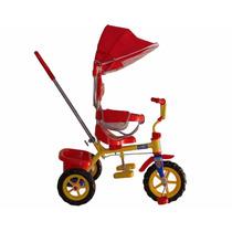 Triciclo Para Bebes Niños Con Baston 2 En 1