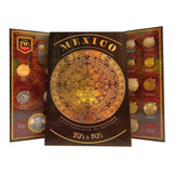 Album Para Monedas Años 70s Y 80s Calendario Azteca Full