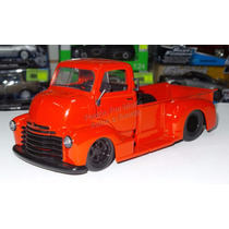 1:24 Chevrolet Coe 1952 Pick Up Rojo Jada Toys Display