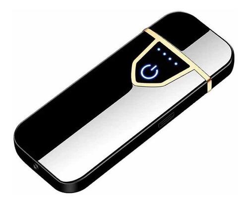 Encendedor Usb Electrónico Touch Recargable Delux Tacto