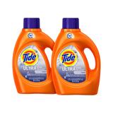 2 Pack Tide Detergente Ultra Stain Release, 2.72 L