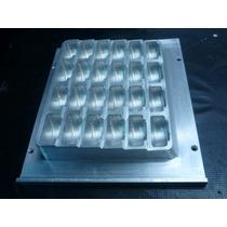 Molde De Aluminio Empaque Exhibidor Cosmeticos Ancho 26cm